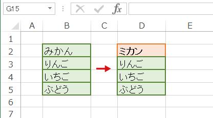 書式と文字列の両方を置換した結果