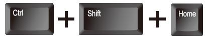 エクセル(Excel)で[Ctrl]+[Shift]+[Home]ボタンで[A1]までの範囲選択