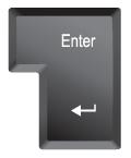 エクセル(Excel)でEnterキーを押すと下に移動