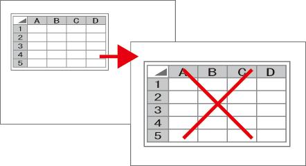 Excelで拡大印刷はパーセンテージ指定で